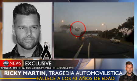 Всесвітньо відомий співак Рікі Мартін загинув в жахливій ДТП