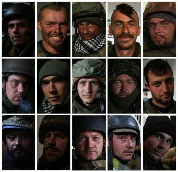 """Украинские """"киборги"""": опубликовано фото бойцов, которые сейчас стоят на смерть в донецком аэропорту"""