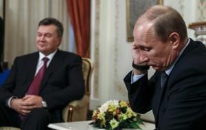 Янукович, Путин и Майдан в Москве…