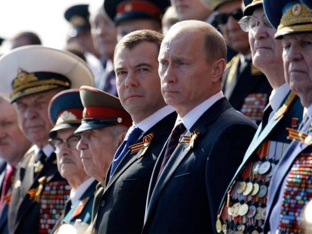 ЧебуРашка ищет друзей или Парад Победы Путина