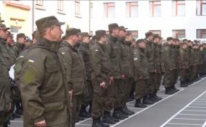 Выпускники академии Нацгвардии откомандированы в военные части