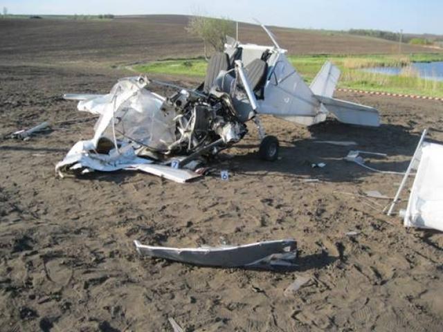 АВИА-ЧП под Киевом: в Обуховском районе упал легкомоторный самолет Sky Ranger. Двое в реанимации