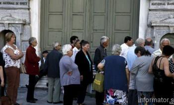Греция на неделю закрыла банки и ввела лимит на снятие наличных