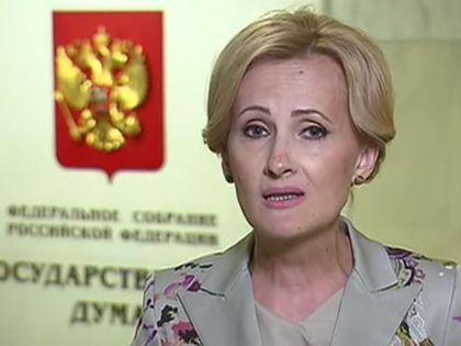 """Ирина Яровая уличена в учебе на """"вражеские"""" деньги"""