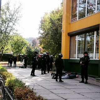 В Киеве произошла перестрелка: опубликованы фото
