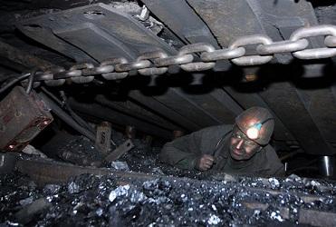 Забастовка на шахтах в Макеевке