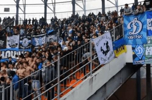 Ультрас «Динамо» спели речевку про «пулю Жилину-скотине»