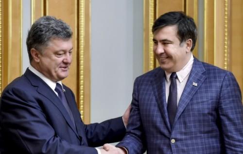 Отставка Саакашвили может быть согласованной игрой с Порошенко против Тимошенко