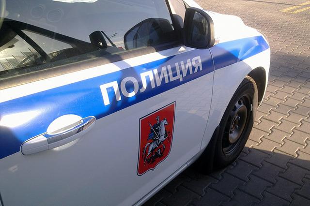 Автомобиль полиции попал в ДТП на юго-западе Москвы