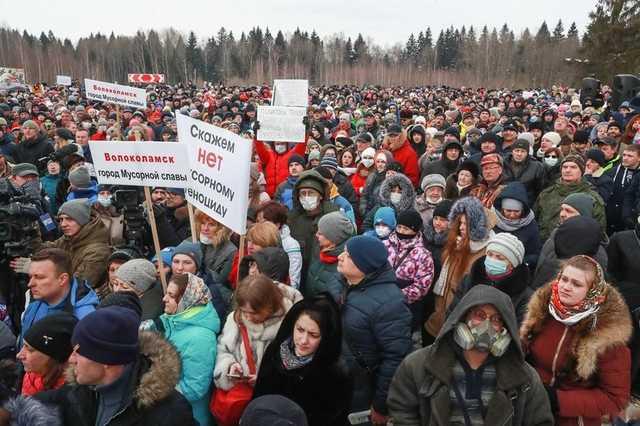 Суд отправил в СИЗО организатора митинга против «Ядрово»