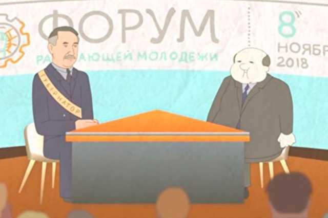 В сеть попал ролик, как врио главы Петербурга героически борется с плохими чиновниками