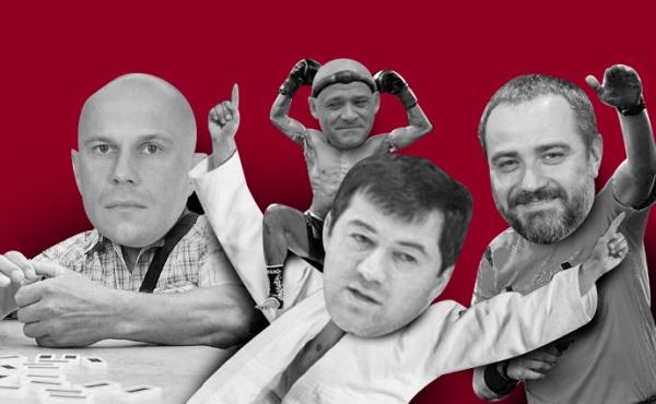 """Свадебные генералы украинского спорта и хозяева """"титушни"""""""