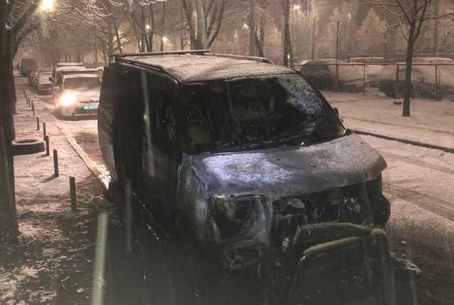 Депутату Киеврады сожгли очередную машину