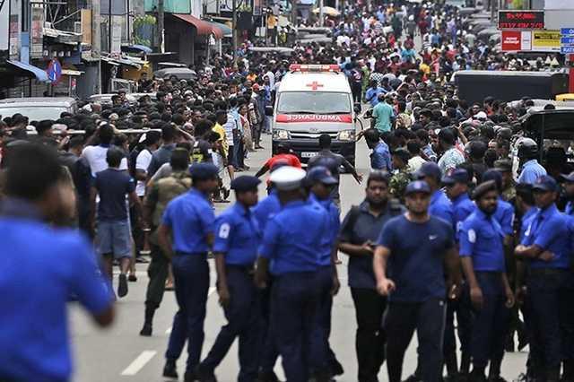 Число жертв терактов на Шри-Ланке выросло до 290