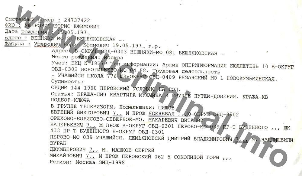 Как Борис Ушерович и Валерий Маркелов любили друзей детства?